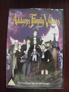 Paramount Addams Family Values DVD M FACT 2001 Region 2