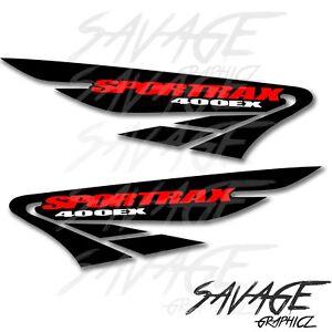2 Honda trx 400ex Sportrax decals