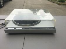 Kenwood KD-44R Turntable Record Player Great Condition Quartz Pill Direct Drive