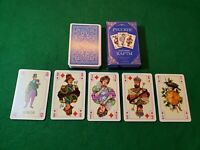 RARE Vintage Russian Eastern Europe Playing Cards, ORIGINAL BOX! 54 Cards