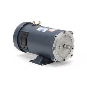 Leeson Electric Motor 108048.00 3/4 HP 1800 Rpm 12 Volt VDC DC 56C Frame