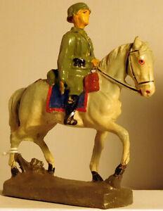 Elastolin Soldier in Horseback #2