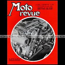 MOTO REVUE N°1855 MZ 250 ES /2 MONTESA 250 TRIAL 350 CROSS SALON DE LONDRES 1967
