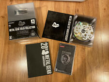 METAL GEAR SOLID 20th Anniversary COLLECTION JAPAN Limited Edition PS1 PS2 PSP