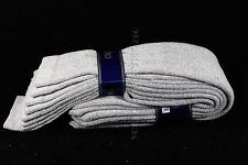 13-17 4 Pairs Athletic Thick socks Calf / Knee High Men's Tube Socks White Black