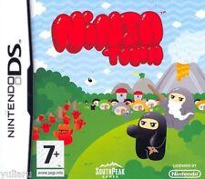 NINJA TOWN GIOCO PER NINTENDO DS-3DS, GIOCO PER BAMBINI, NUOVO