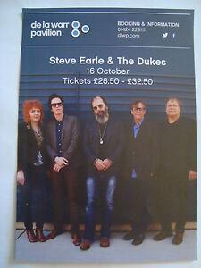 STEVE EARLE AND THE DUKES : de la warr pavilion Flyer