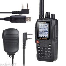 WALKIE BIBANDA VHF/UHF WOUXUN KG-UV8D +MICRO MANO+CABLE PROGRAMACION FULL DUPLEX