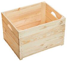1 pieza Caja de fruta JOHANNA NUEVO Vino Madera manzana Estantería vintage