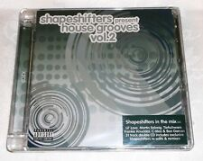 SHAPESHIFTERS PRESENT HOUSE GROOVES VOL. 2 - 31 TRACK DOUBLE CD - NEW & SEALED