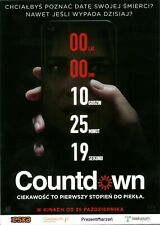 Elizabeth Lail Justin Dec - Countdown - Polish promo FLYER