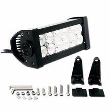 "Zone Tech 7"" LED Work Light Bar Spot Driving Lamp Offroad Error Free Jeep UTV"
