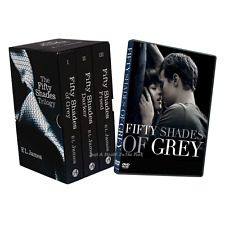 Fifty 50 Shades of Grey Complete Book Trilogy Darker Freed 1-3 Set + Movie Set