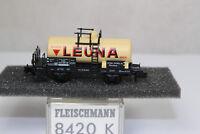 n2565, Fleischmann 8420 K Kesselwagen LEUNA BOX Spur N KKK NEM mint