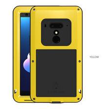 LOVE MEI Gorilla Glass Cover Metal Waterproof Outdoor Case for HTC U11 U12 Plus