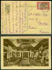 Madagascar 1923 ship view card LA REUNION A MARSEILLE