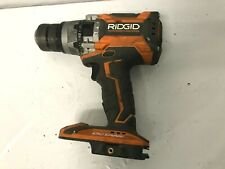 """RIDGID R8611506 18V OCTANE Cordless Brushless 1/2"""" Hammer Drill/Driver, G [M]"""
