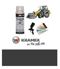 Kramer Loading Shovel Dark Grey Paint High Endurance Enamel Paint 400ml Aerosol