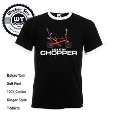 Funny Raleigh Chopper T shirt Retro 80's Classic