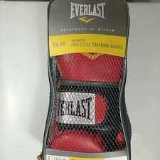 Everlast TA:14 Advanced Training Gloves Boxing Men's Red Used Once S_A04