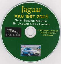 Jaguar XK8 1997 -2005 FACTORY SERVICE REPAIR SHOP & MAINTENANCE MANUAL + Parts !