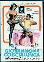 Giovannona Coscialunga disonorata con onore - DVD nuovo sigillato, editoriale
