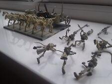 Warhammer Fantasy Tomb Kings Chariots x3 Age Of Sigmar Settra Skeleton Horsemen