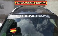 Adhesivo Lateral Decal stickers De Vinilos Coche Renegade parabrisas 130x21cm