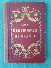 Rare 1800's Book: Les Cantinieres de France French Military Costumes