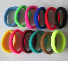 Mixed 12pcs Girls elastic hair ties band rope ponytail bracelets scrunchie H8004