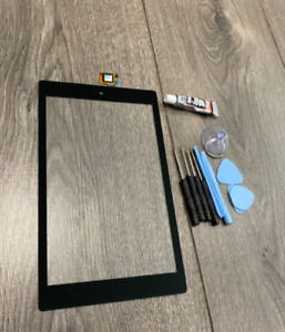 """Amazon Kindle Fire 7 2019 7"""" M8S26G Touch Glass Screen Digitizer Replace + GLUE"""