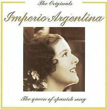 Queen of Spanish Songs * by Imperio Argentina (CD, 2005, EJD Records)