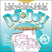 The Greatest Newspaper Dot-to-Dot Puzzles, Vol. 5