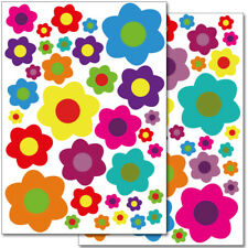 "Wandkings Wandsticker ""Blumen Design 4""  2x A4 Set Aufkleber Deko Wand"