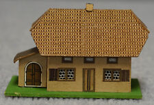 German Early Pre-War Putz House with printed roof and facade Prewar