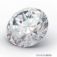 1.35 Carat G/SI3/Ex Cut Round Brilliant AGI Earth Mined Diamond 6.95x7.02x4.38mm
