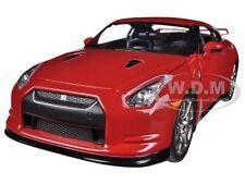 2009 NISSAN GT-R R35 RED 1/24 DIECAST CAR MODEL BY JADA 96811