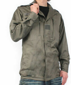 """NEW Genuine French Army F1 Shirt Vintage Field Jacket olive green 120L/48"""""""