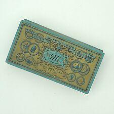 Vermutlich 1920 Verpackung 4711 für Ueberfettete Creme Seife ca. 17 x 9 x  4 cm