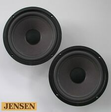"vintage JENSEN 8"" woofers with new surrounds for Model 20, LS-2b, others 1975-80"