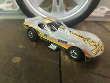 """Hot Wheels Drag Strippers Vetty Funny Car Gray 1979 """"Mongoose"""""""