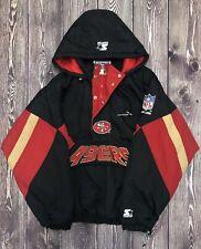 Vintage STARTER NFL SF San Francisco 49ers Overcoat Size XL