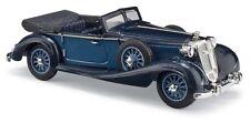 BUSCH 41334 - H0 1:87 - Horch 853 Cabriolet ouverte, Bleu
