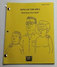Etan Cohen / King of the Hill, 2002 TV Show Script, Rich Hank Poor Hank