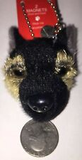 Fuzzy-Nation Magnets Front And Back German Shepherd Dog Head Charm
