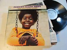 LP RODNEY ALLEN RIPPY Take Life A Little Easier Original 1974 BELL jackinthebox