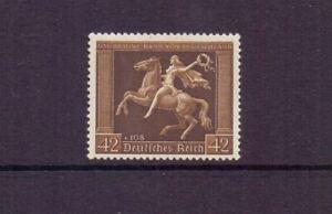 GERMANY 1938 BROWN RIBBON 42pf+108pf MNH CAT £190