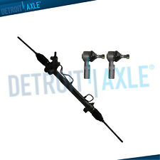 Complete Power Steering Rack And Pinion + Both Outer Tie Rods for Toyota Camry