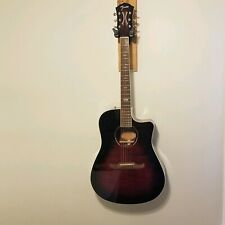 Fender T-Bucket 300CE Acoustic Electric Guitar Flame Maple