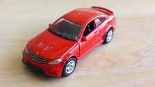 WELLY NEX - MERCEDES BENZ C 63 AMG  RED           1/64 APROX. *NEW*